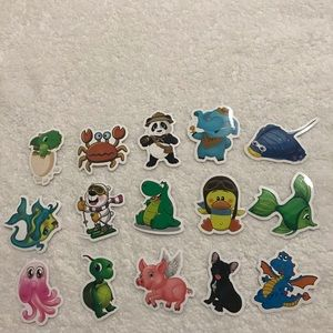 Other - 50 pcs cute animals stickers